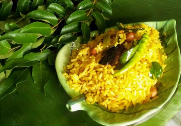 Pulihora Tamarind Rice Recipe