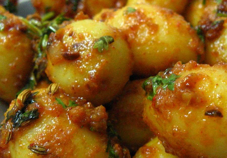 Dum Aloo Potato Recipe