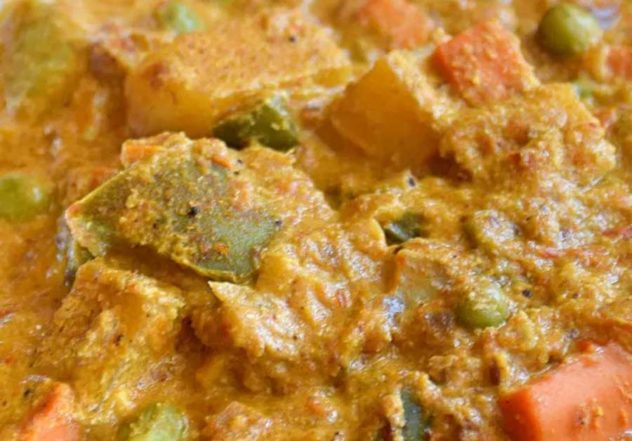 Creamy and Tasty Vegetable Korma