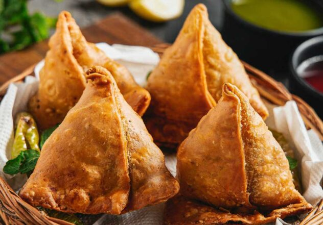 Start Your Curry Night with Savoury Samosa